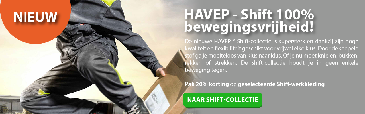 HAVEP shift collectie