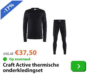 Thermo - craft - onderkledingset